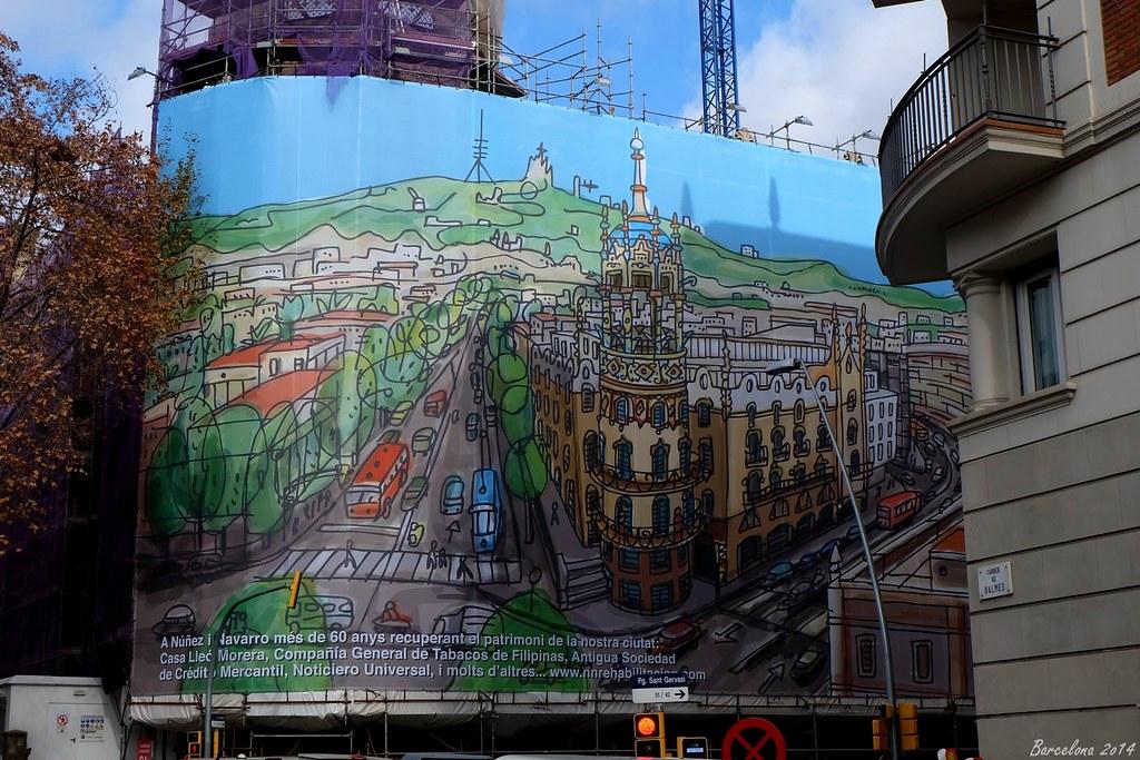 Barcelona day_4, Passeig de Sant Gervasi, 53