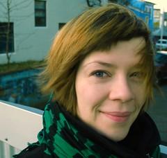 Birta Gudjonsdottir. Momentum 2015 Curator