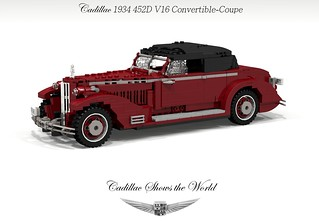 Cadillac 1934 452D V16 Convertible-Coupe