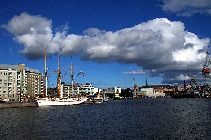 Puerto de Helsinki. © Paco Bellido, 2005