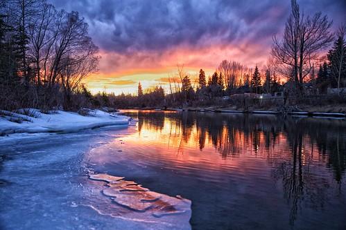 sunset calgary