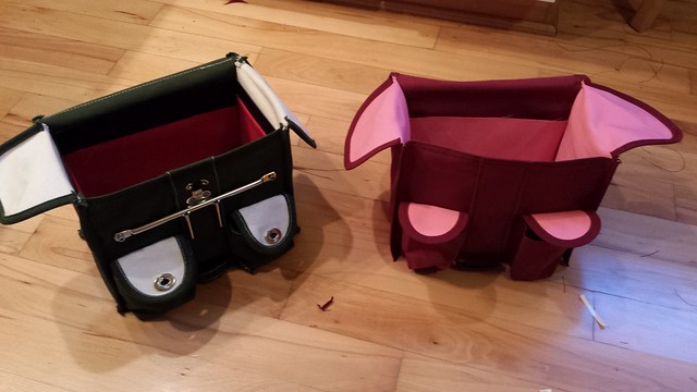 HIs & hers randonneur bags