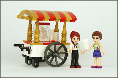 Friends Popcorn Cart