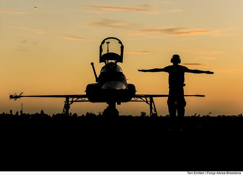 F-5EM (sunset)