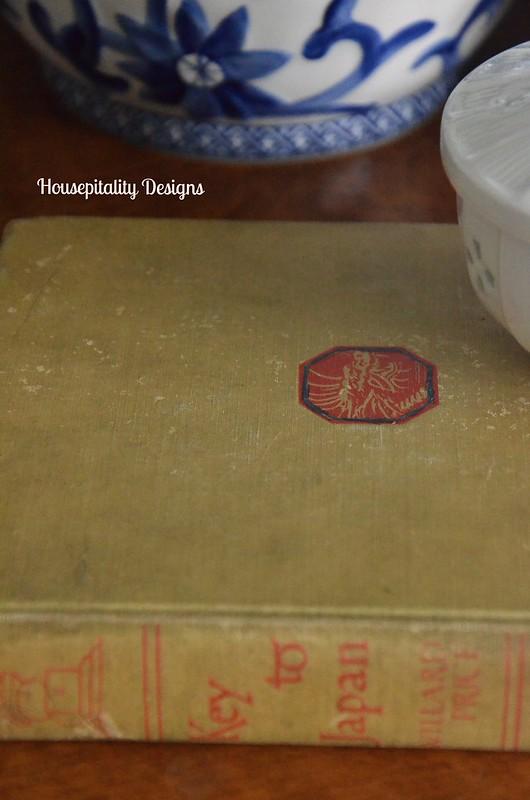 Vintage book-Housepitality Designs