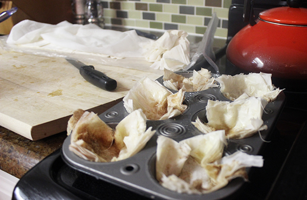 phyllo-cups
