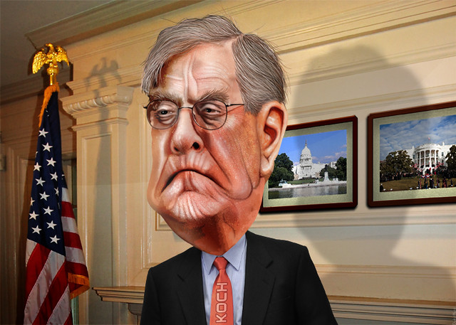 Header of David Koch