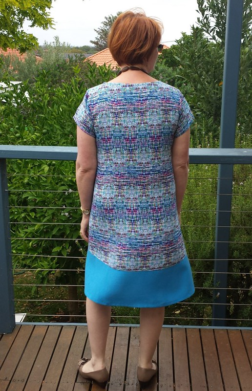 Tessuti Gabby dress in rayon from Darn Cheap Fabrics