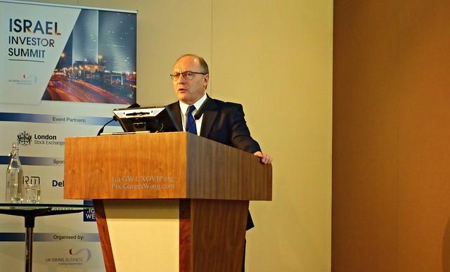 Prof Leo Leiderman Chief Economic Advisor of Bank Hapoalim from RAW b _DSC0216
