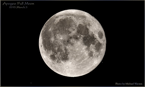 2015 March 5 ~ The Apogee Full Moon