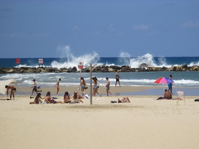 Gordon beach, Tel Aviv