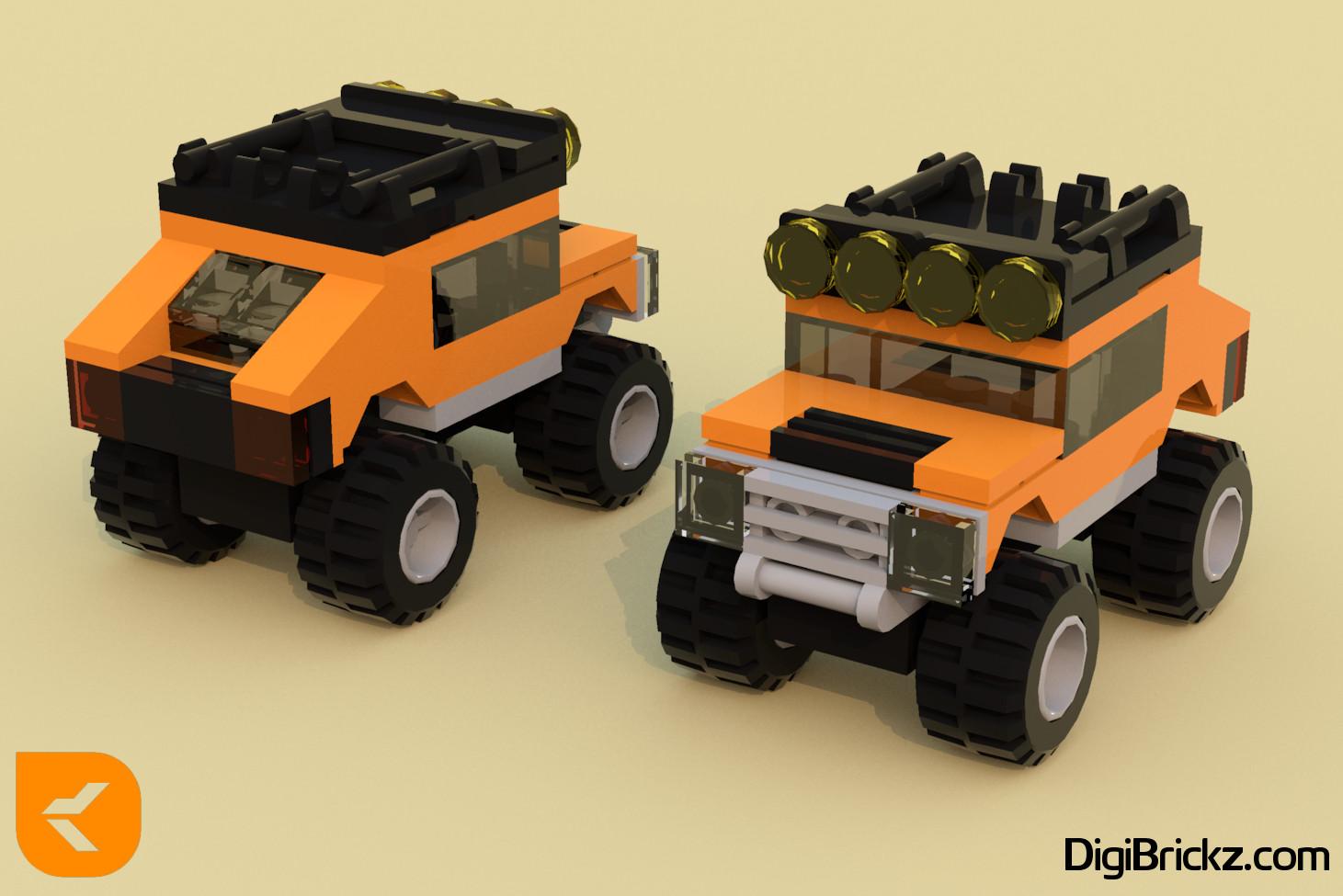 LEGO Heavily Modified 30283 - Hummer® by Kamal Muftie Yafi (KamalMYafi/Kamteey) | DigiBrickz.com
