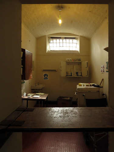 Medical office in the Crumlin Road Gaol (Jail) in Belfast, Ireland