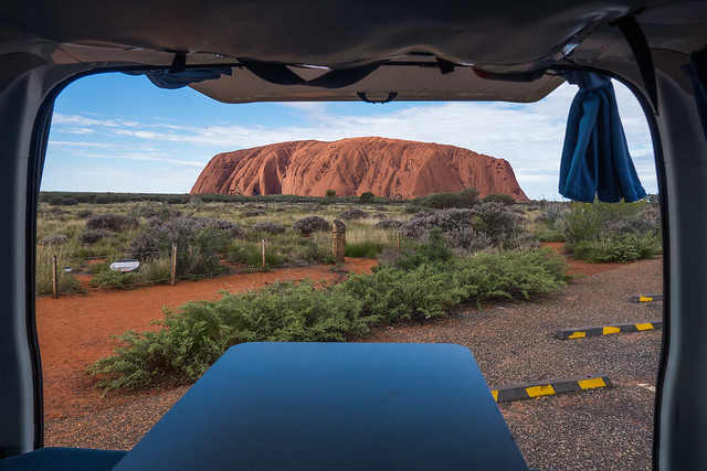 Uluru Ayres Rock Northern Territory - How to do your own self-guided Uluru tour in Australia. Visit Ayers Rock in the Australian outback for cheap | Things to do in Uluru | Budget tour of Ayres Rock | Road trip from Alice Springs to Uluru | Free camping at Uluru