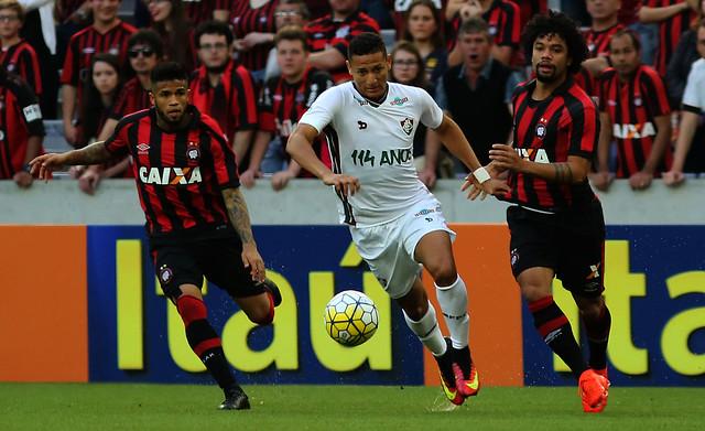 Atlético-PR x Fluminense  - 24/07/2016