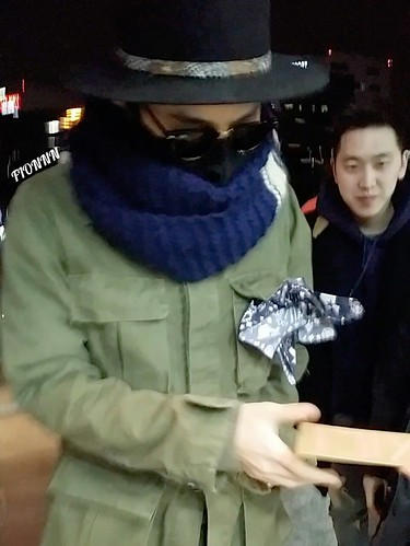 Big Bang - Gimpo Airport - 27feb2015 - G-Dragon - Fionnn_权小柒 - 01