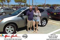 Mac Haik Nissan Corinth Texas Denton Customer Reviews Dallas Dealer Reviews -Michael & Ginger Cochran
