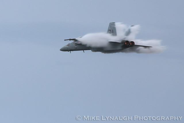 Supersonic high speed pass - VFA-106 Gladiators - My cruise on the USS George Washington - CVN-73