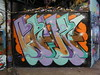 Mr Cenz graffiti, Leake Street