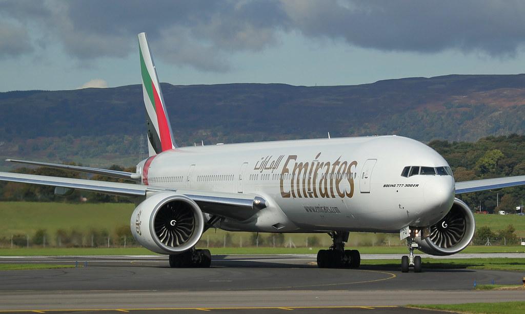 A6-EPQ - B77W - Emirates