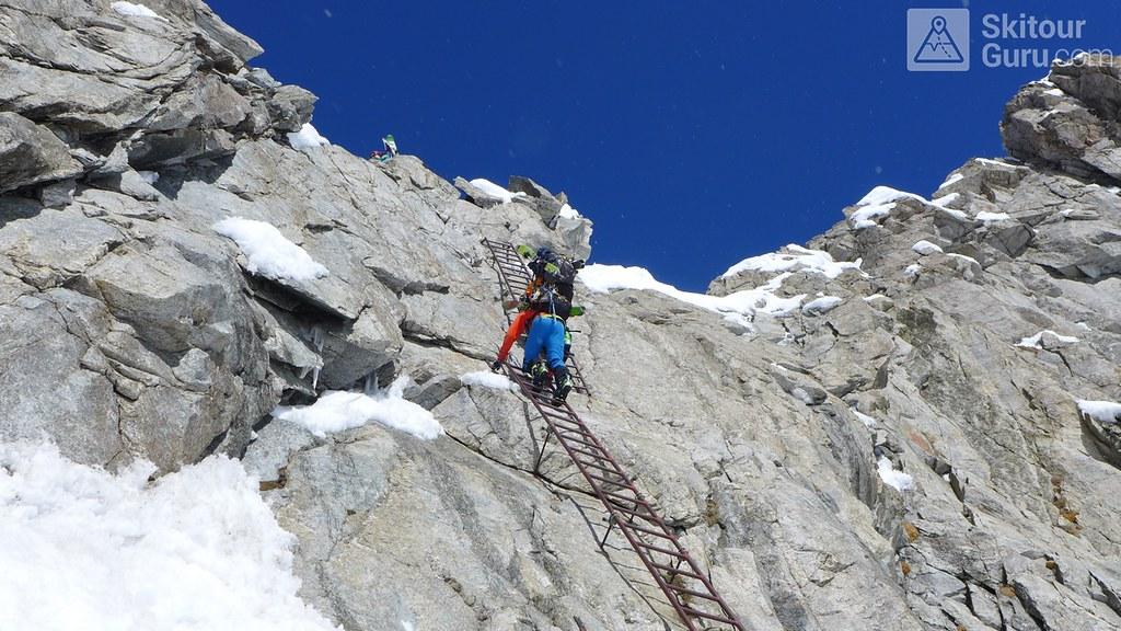 Haute Route Swiss Glacier, Obri Bächlilücke, Berner Alpen:http://skitourguru.com/oblast/12-berner-alpen-alpes-bernoise, Switzerland.