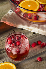 Red Cranberry Holiday Punch