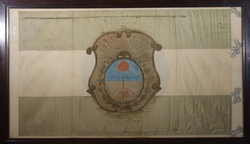bandera ciudadana de San Juan que encabezó la IV División del Ejército de los Andes al mando de Juan Manuel Cabot,