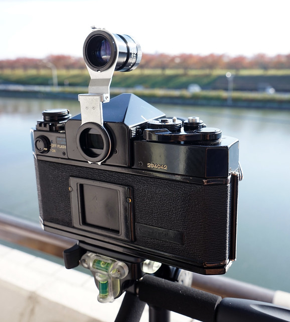 Canon F-1 with Magnifier-R