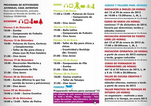 AionSur 15326461023_a0f086c829_d Once talleres y muchas actividades para los jóvenes de ArahalCultura