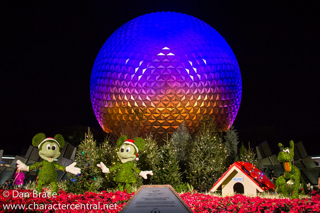 Christmas at Spaceship Earth