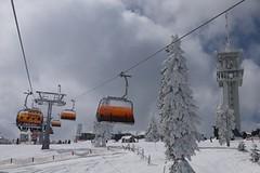 Klínovec: nejdelší sjezdovka Krušných hor otevřena od Nového roku