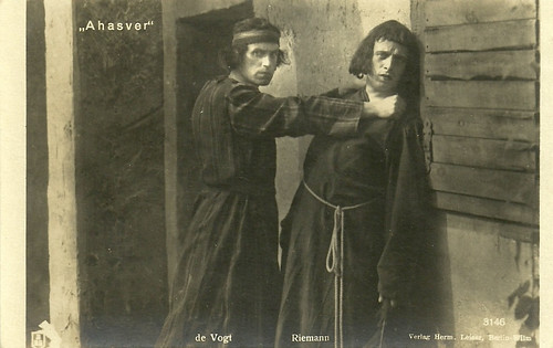 Carl de Vogt and Johannes Riemann in Ahasver