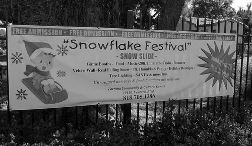 Snowflake Festival in Tarzana (0787)