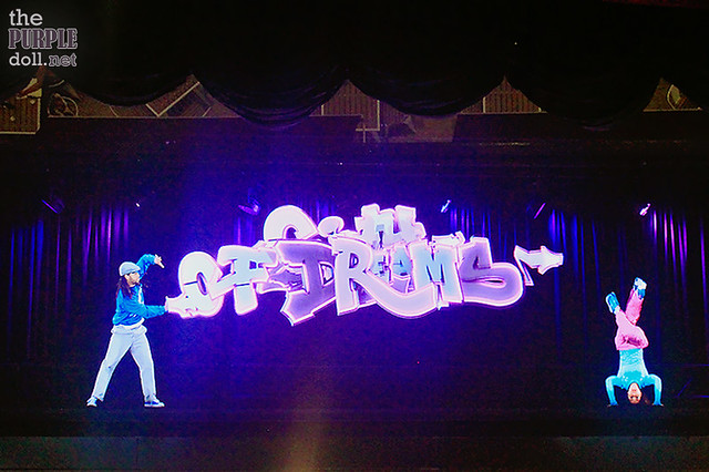 Holographic street dance show at SOHO City of Dreams Macau