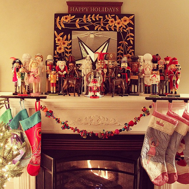 On Christmas Eve my kids each receive a new nutcracker, we already have quite the collection, I love it!!