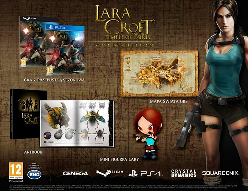Lara Croft and the Temple of Osiris Edycja Kolekcjonerska PL