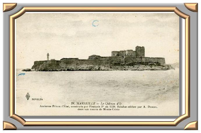Le château d'If 28 MARSEILLE
