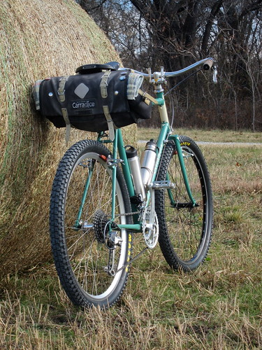 Old school bikepacking, and geezer MTB
