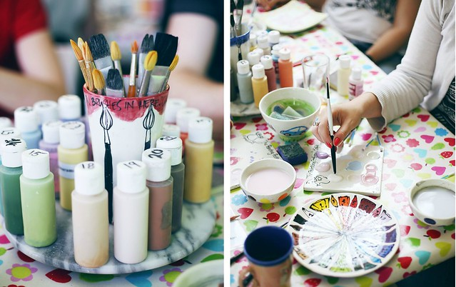 Pottery Paint Brighton