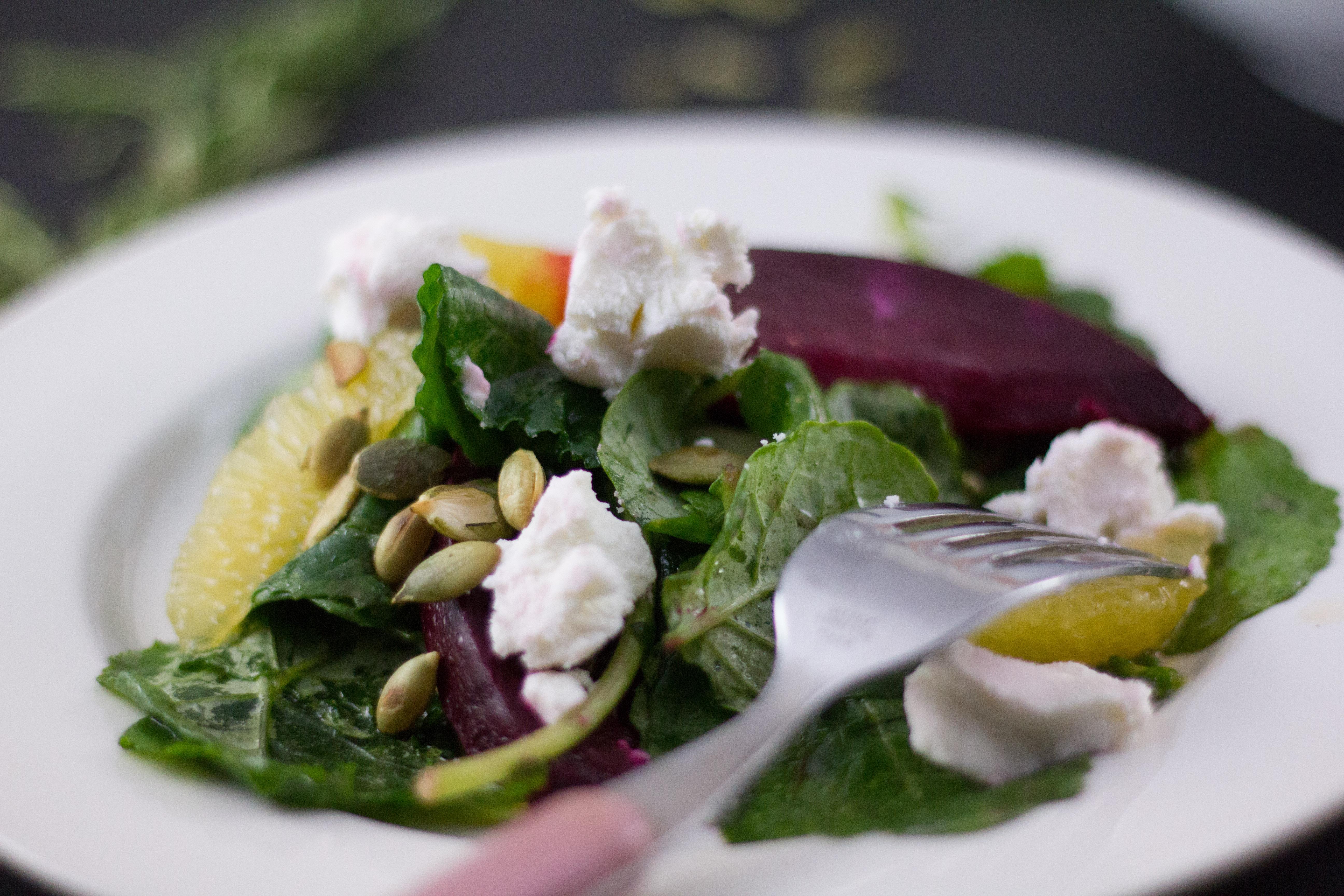beet orange and kale salad (4 of 9)