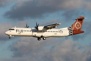 ATR72-600 FijiLink MSN1221 F-WWET (DQ-FJX) - TLS