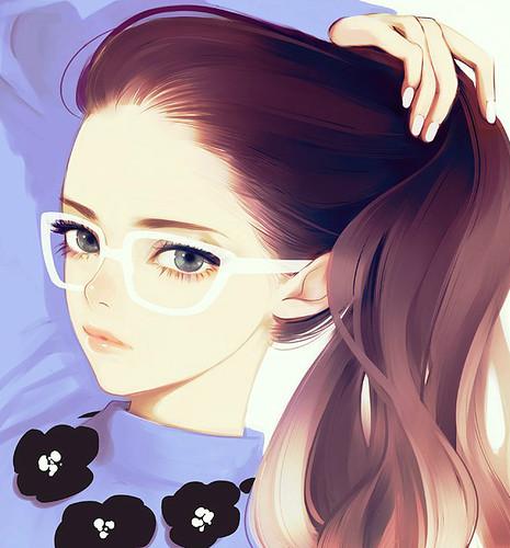 Картинки девушка с жвачкой