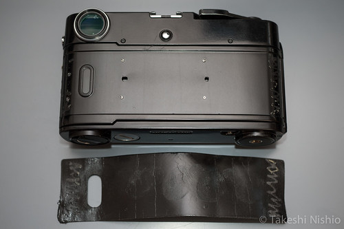 Zeiss Ikon, removed back door skin