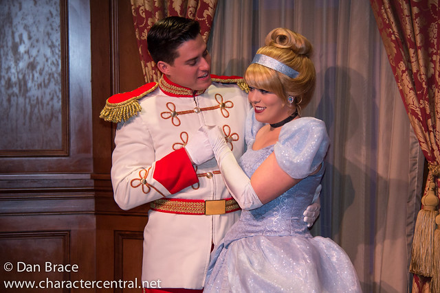 Meeting Cinderella and Prince Charming