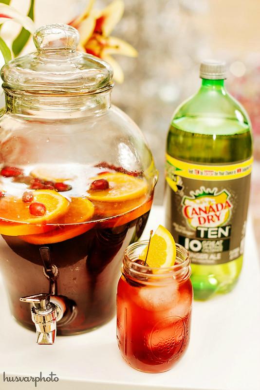 caribbean christmas dark rum punch