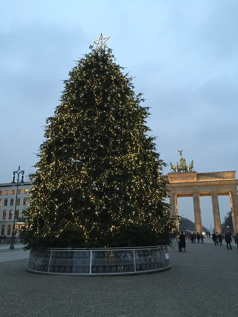 Kerstboom Brandenburger Tor