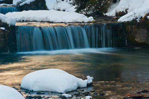 hiver rivière neige savoie ruisseau eaufroide aigueblanche nikond3 forêtdesapin olivierthirion nikon24120f4 cascadedumorel filtrevariablend2400
