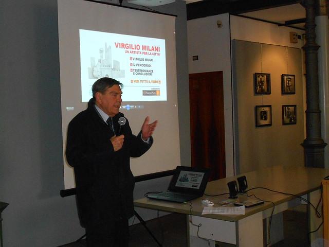 Virgilio Milani, Luigi Costato, presidente fondazione banca del monte, Rovigo
