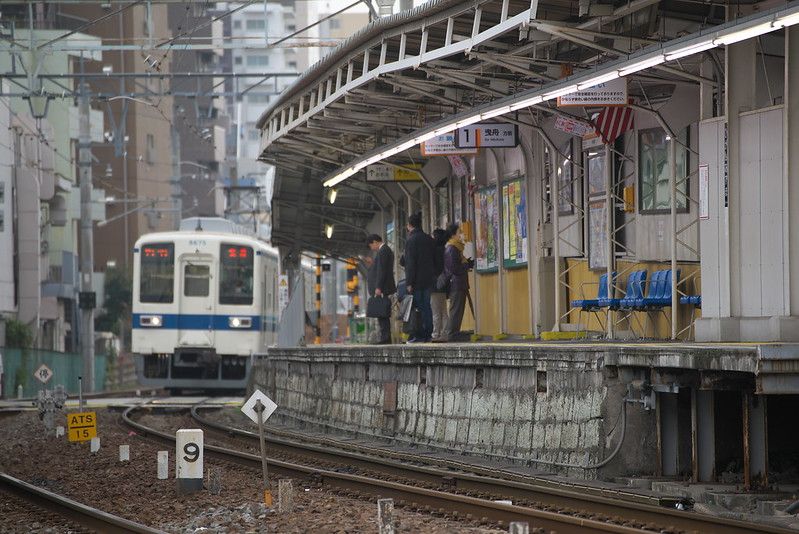 Tokyo Train Story 東武亀戸線 2015年2月24日