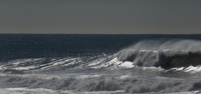 Waves at Ocean Beach, San Francisco; Novembe 24, 2014